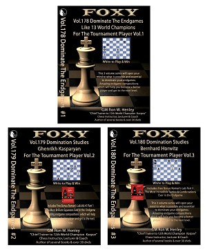 Chess End Game Studies - Foxy 178, 179, 180 DVD Instruction