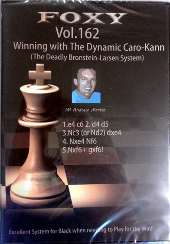 Foxy 162 Winning With the Dynamic Caro Kahn
