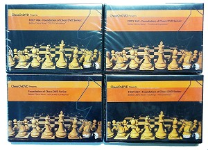 Foxy Better Chess Now Set of 4 DVD Set 64,65,66 & 67