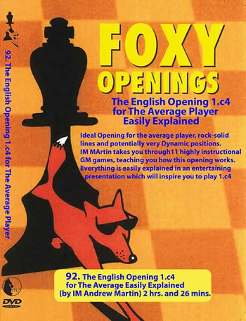 Foxy 92 The English Opening For The Average Player