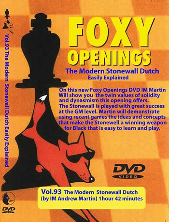 Foxy Vol. 93 The Modern Stonewall Dutch