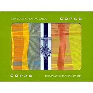 COPAG Geometric Playing Cards - Super Index - Bridge