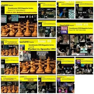 All 15 Chess Grandmaster Video Magazine DVDs