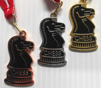 Knight Chess Medal