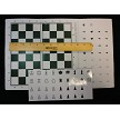 Large Checkbook Folding Magnetic Chess Set 9""