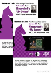 "Roman's Lab 26 and 27:  Nimzowitch's ""My System"""