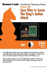 Roman's Lab 28:  Easy Way to learn The King's Indian Attack