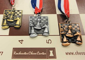 Square Chess Medals - Chess Prize Award