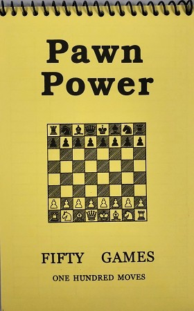 Pawn Power Yellow Softcover Scorebook