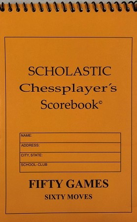 Scholastic Orange Softcover Scorebook