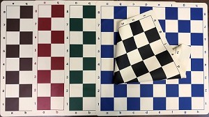 "Stretchy Silicon 20"" Chess Board - 2 1/4"" squares - Color Choice"