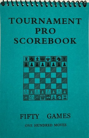 Tournament Pro Green Softcover Scorebook